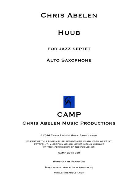 Huub - Alto Saxophone