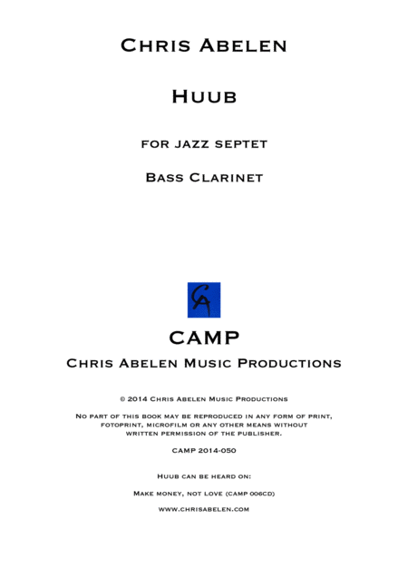 Huub - Bass Clarinet