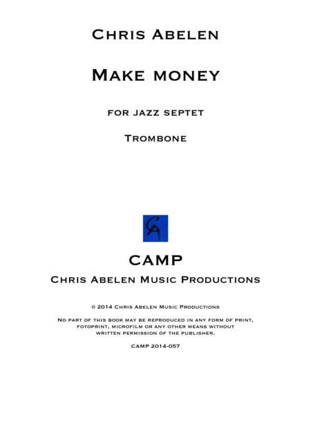 Make money - trombone