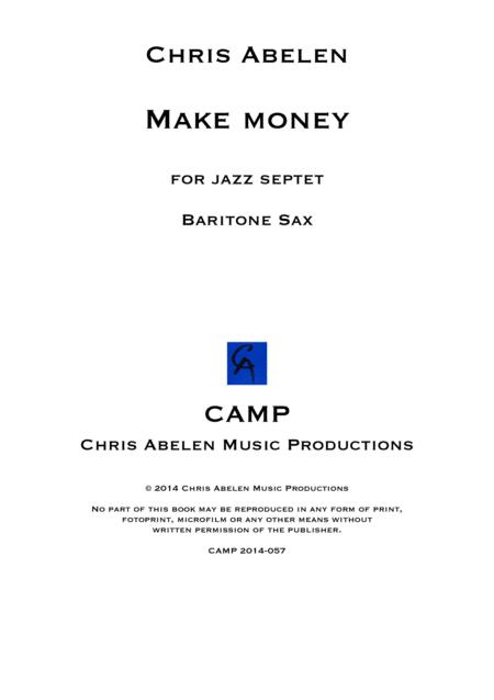 Make money - baritone saxophone
