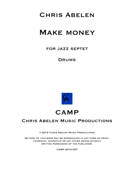Make money - drums