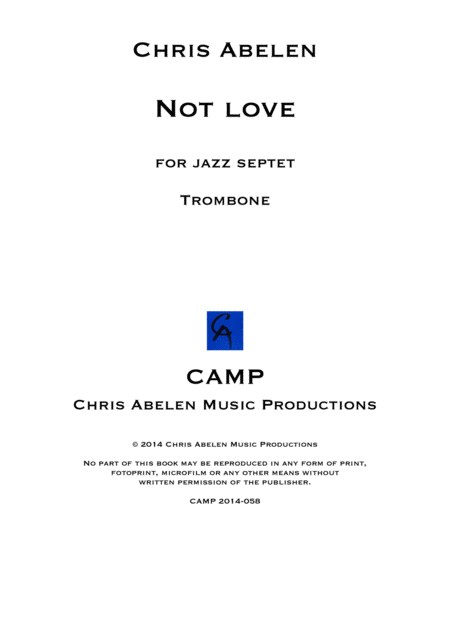Not love - trombone