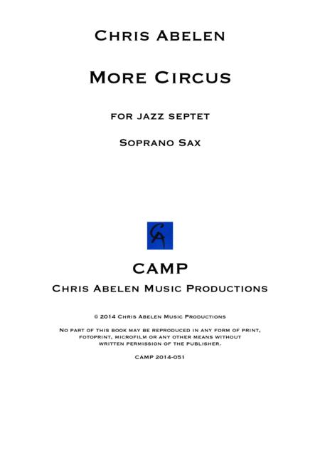 More circus - soprano saxophone