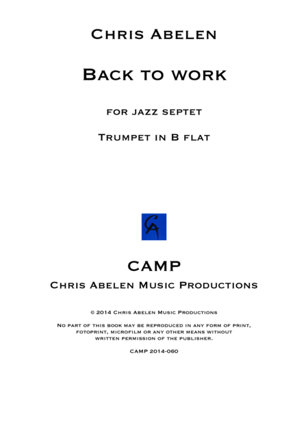 Back to work - trumpet