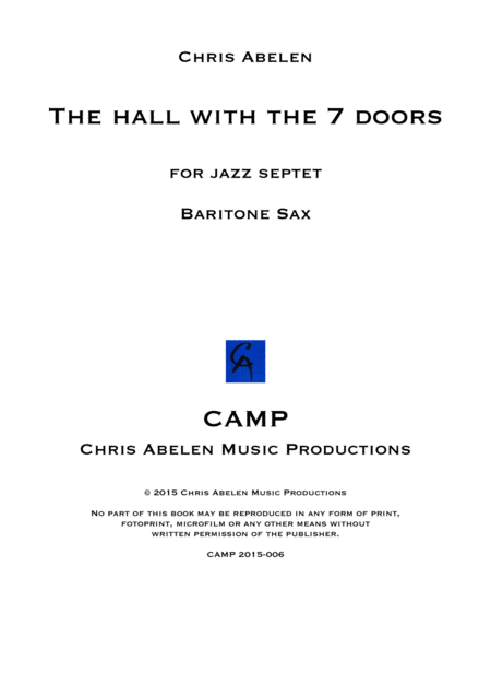 The hall - baritone saxophone