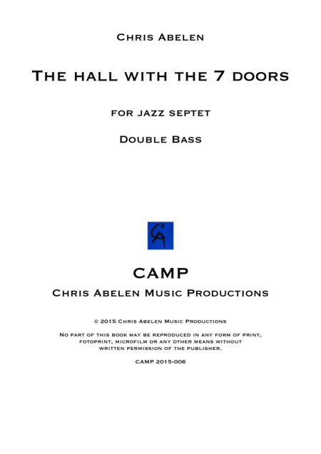 The hall - double bass