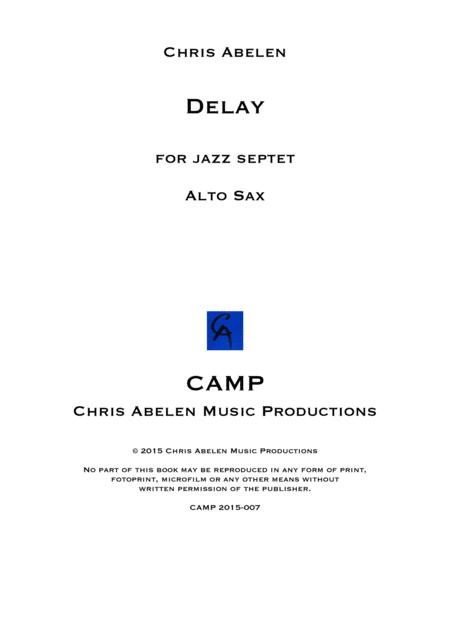 Delay - alto saxophone