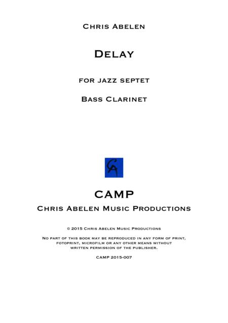 Delay - bass clarinet