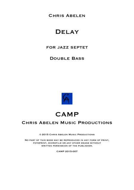 Delay - double bass