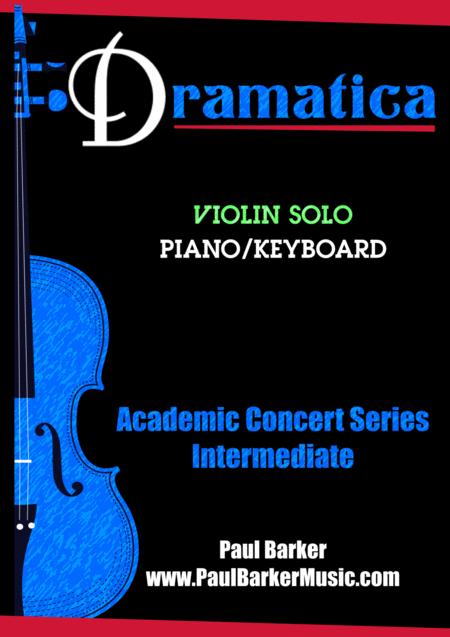Dramatica for Violin Solo  (Score & Parts)