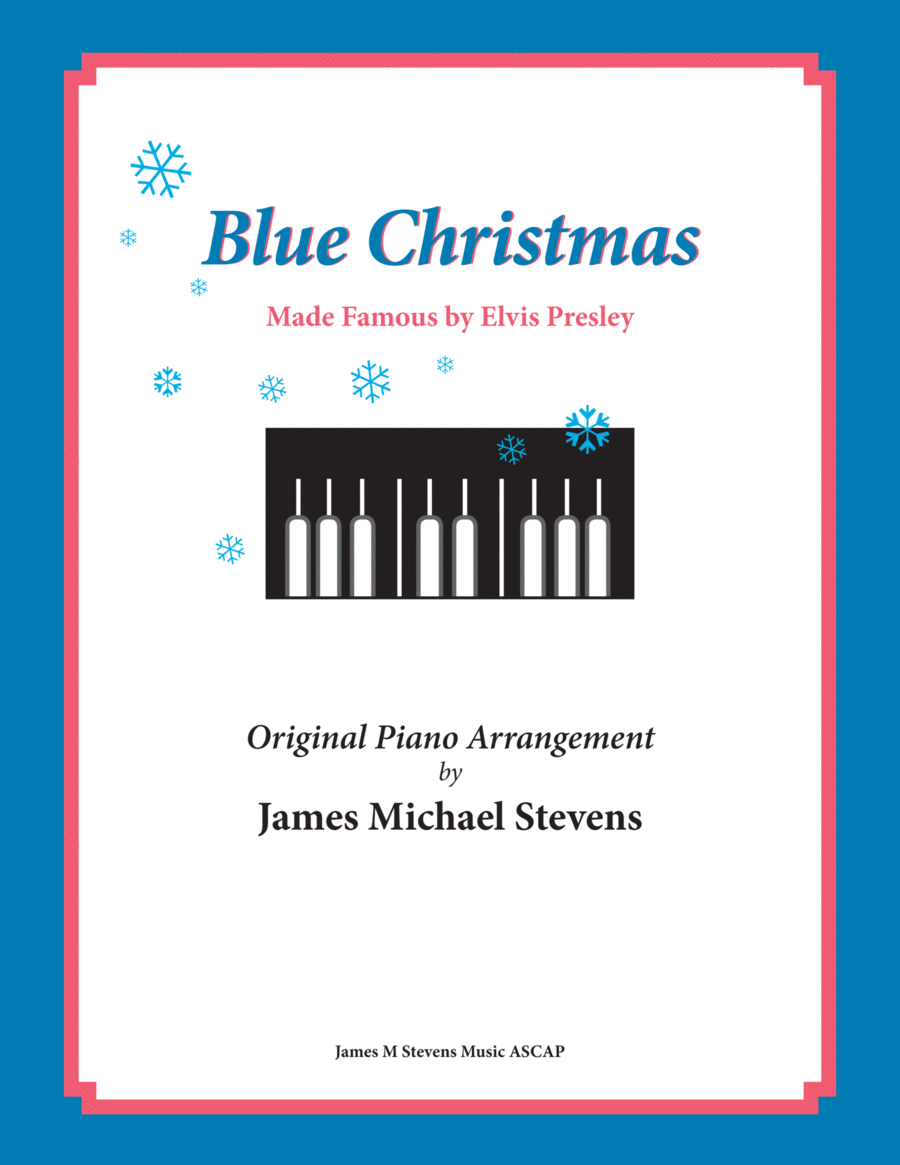 Blue Christmas by Elvis Presley (Christmas Piano)