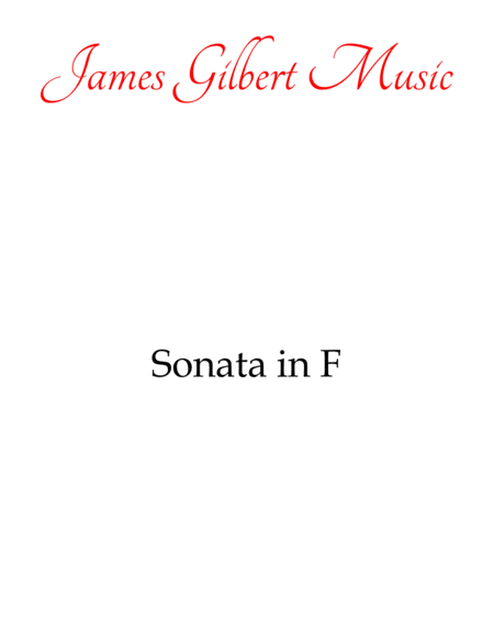 Sonata in F Major (K. 332)
