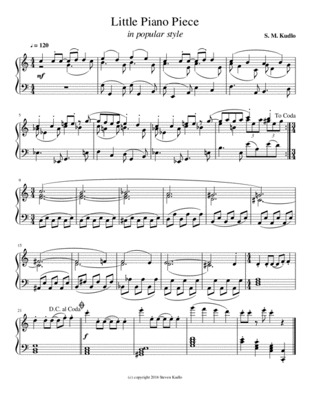 Little Piano Piece