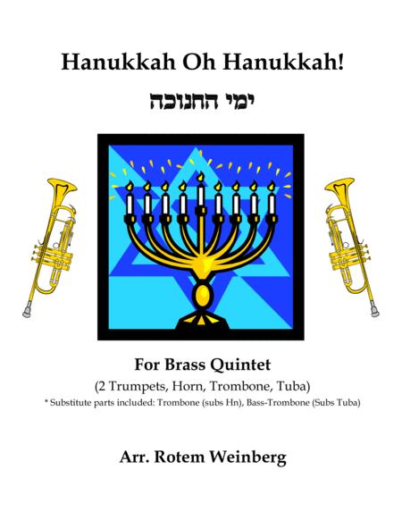 Hanukkah Oh Hanukkah - Brass