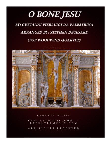 O Bone Jesu (for Woodwind Quartet)