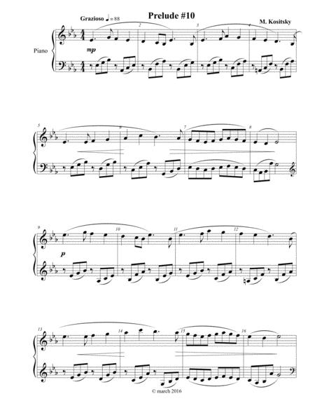 Prelude #10