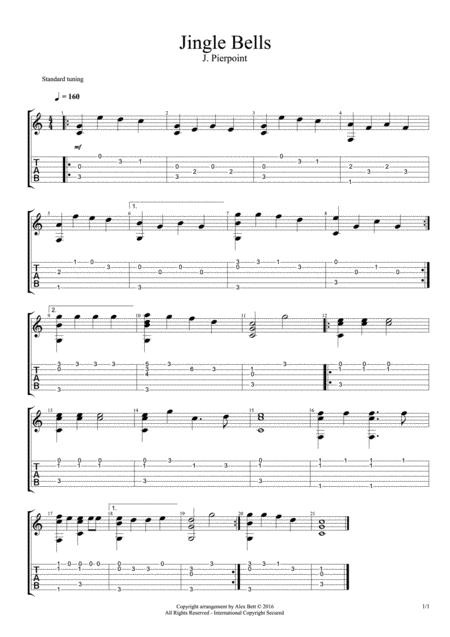 Jingle Bells (Fingerstyle Guitar)