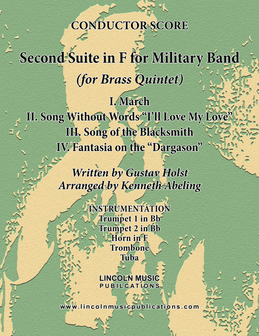 Holst - Second Suite for Military Band in F (for Brass Quintet)