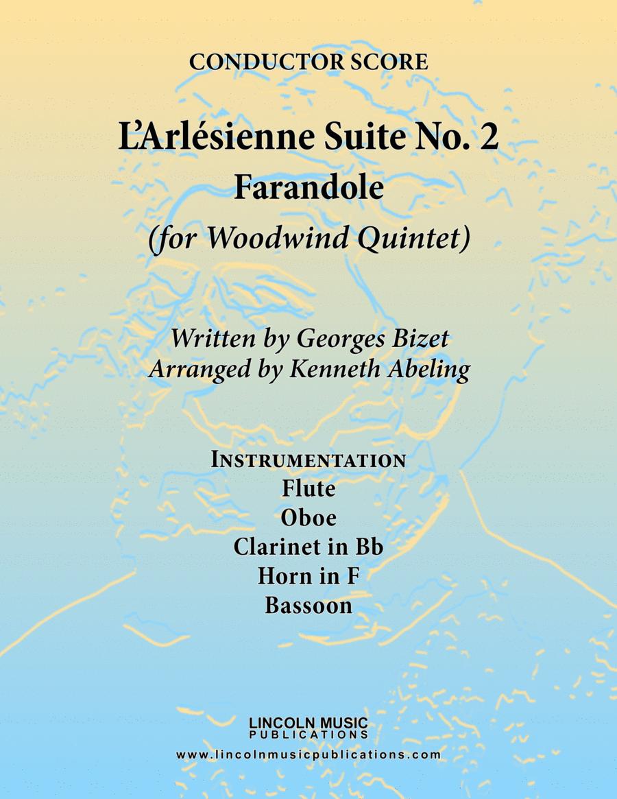 Bizet - Farandole from L'Arlesienne Suite No. II (for Woodwind Quintet)