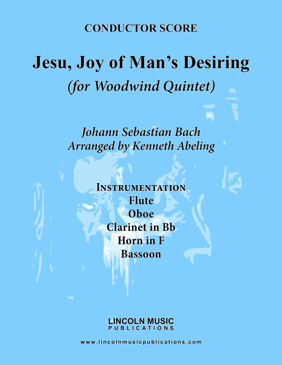 Bach - Jesu, Joy of Man's Desiring (for Woodwind Quintet)