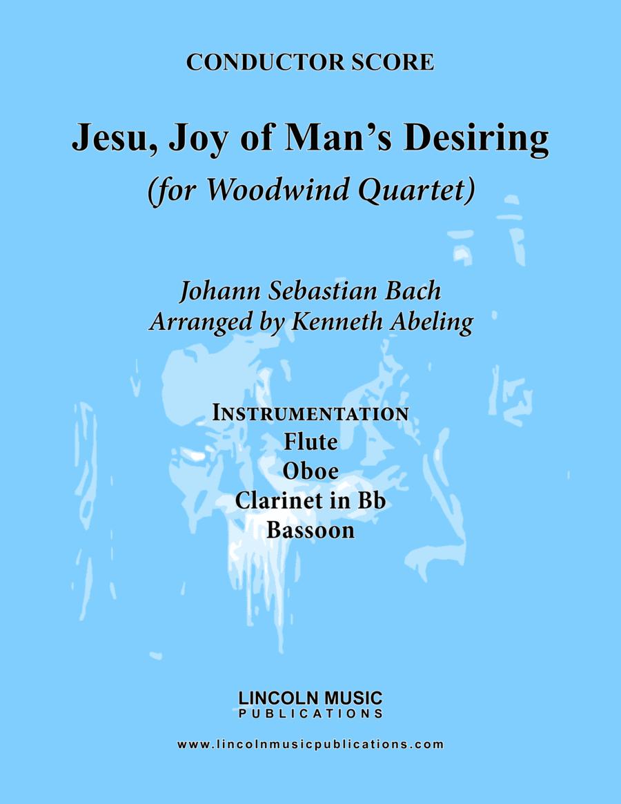Bach - Jesu, Joy of Man's Desiring (for Woodwind Quartet)