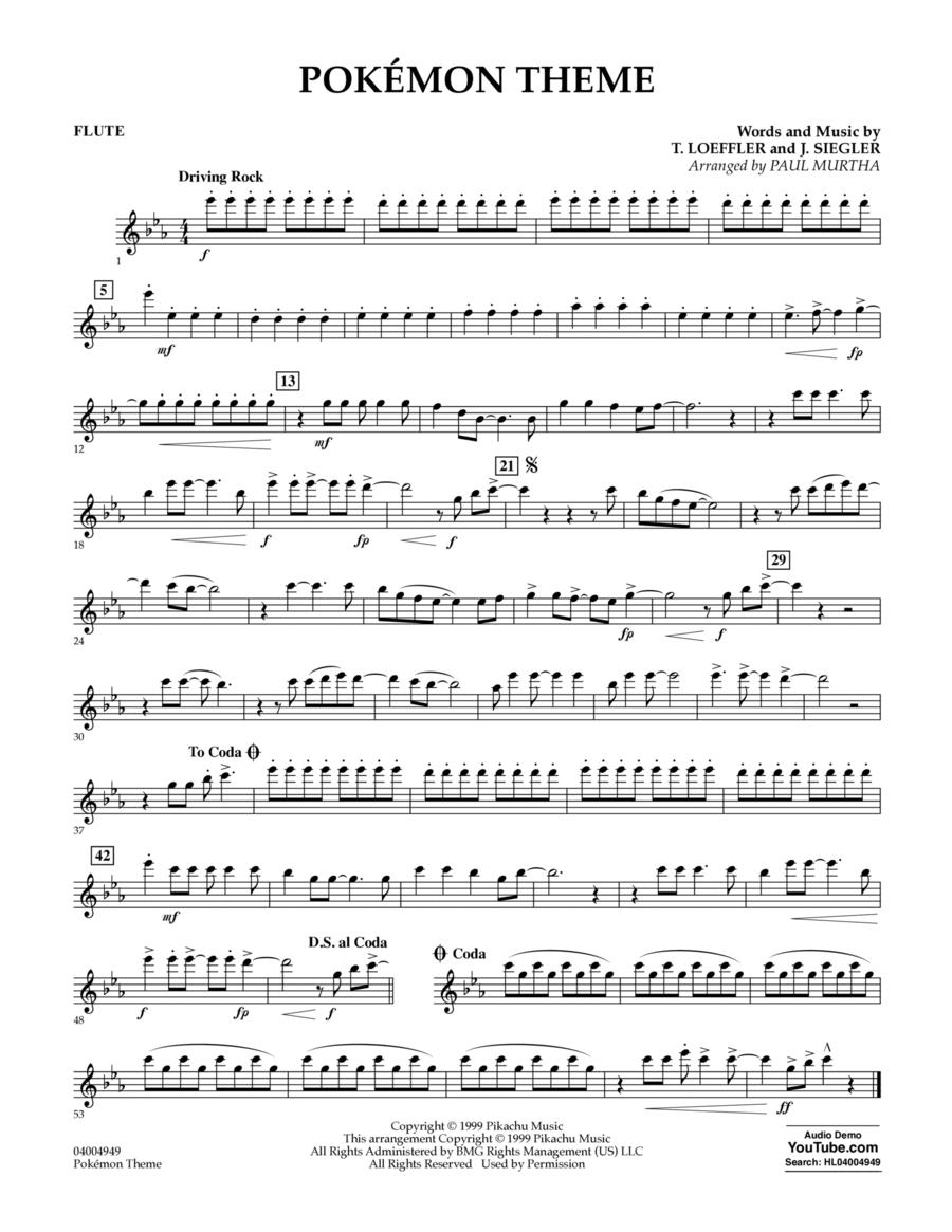 Pokemon Theme - Flute