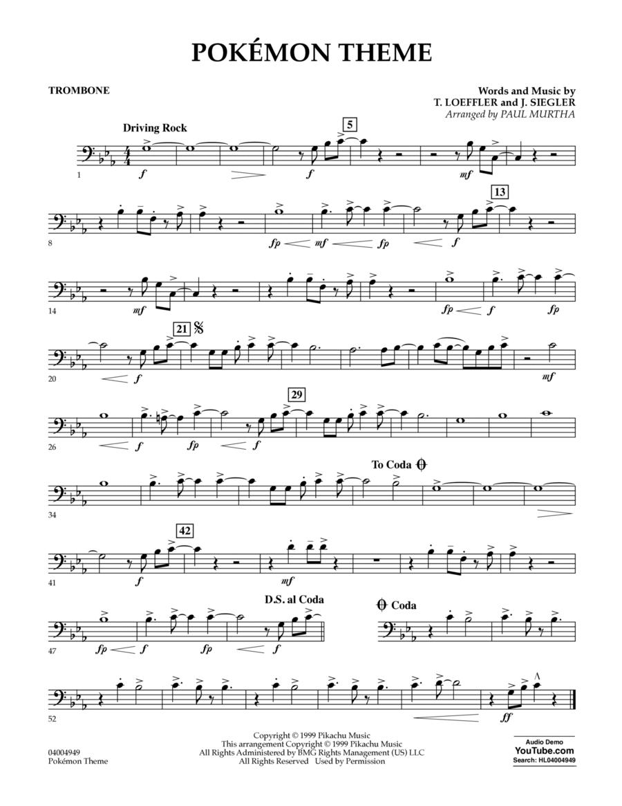 Pokemon Theme - Trombone