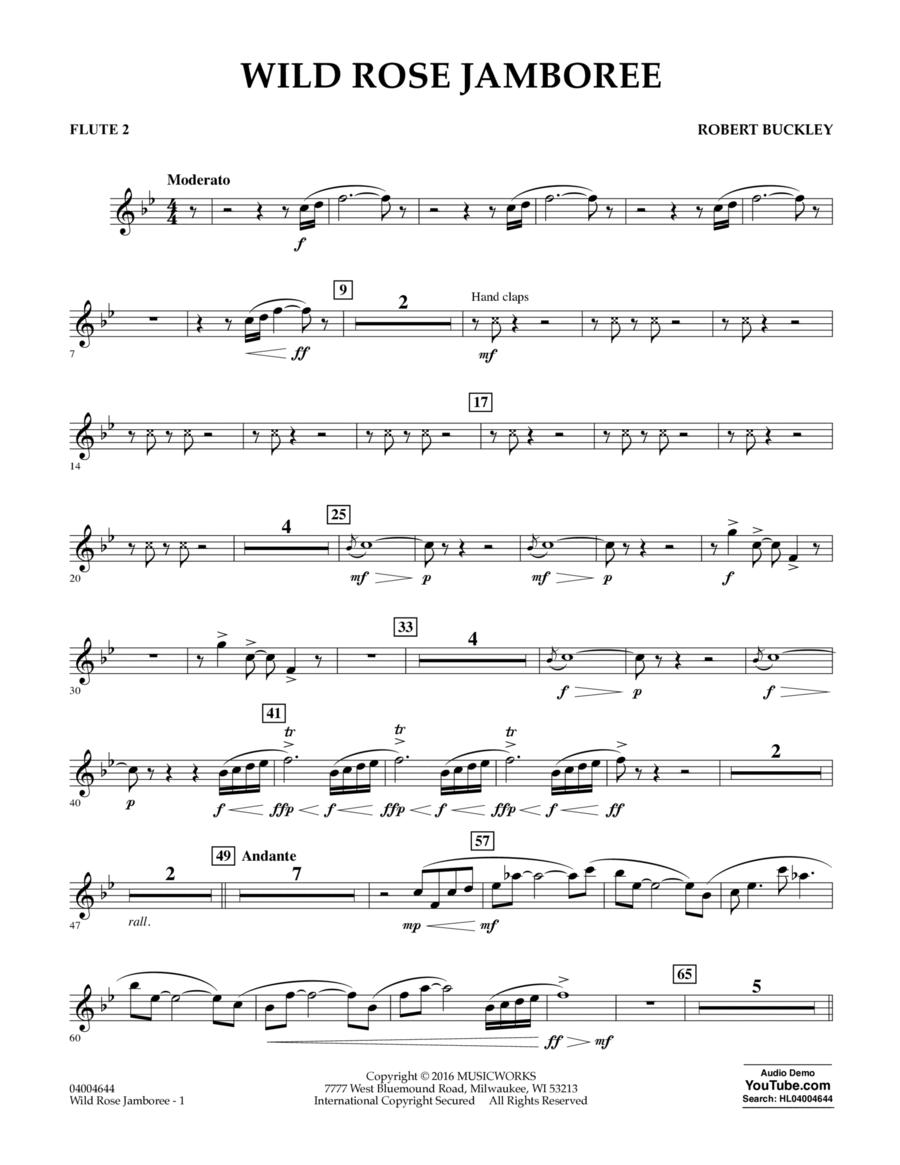 Wild Rose Jamboree - Flute 2