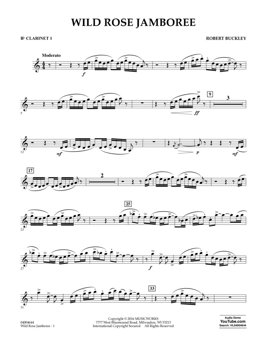 Wild Rose Jamboree - Bb Clarinet 1