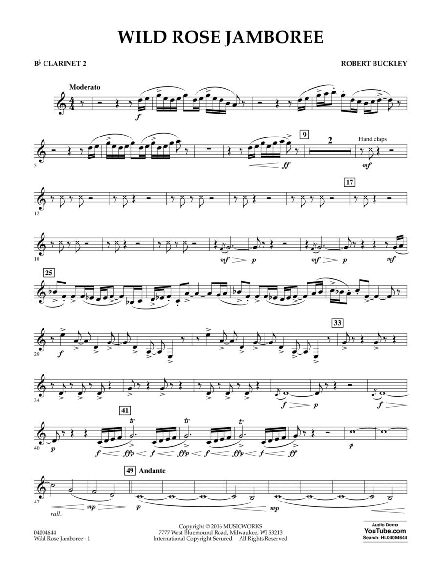 Wild Rose Jamboree - Bb Clarinet 2