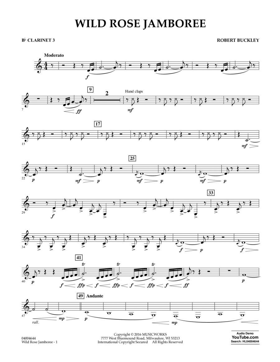 Wild Rose Jamboree - Bb Clarinet 3
