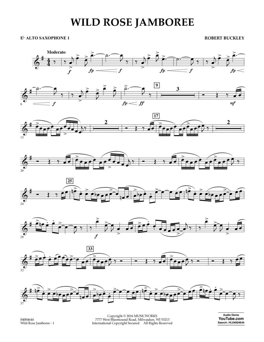 Wild Rose Jamboree - Eb Alto Saxophone 1