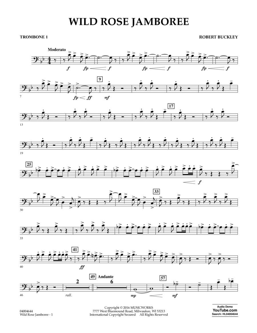 Wild Rose Jamboree - Trombone 1