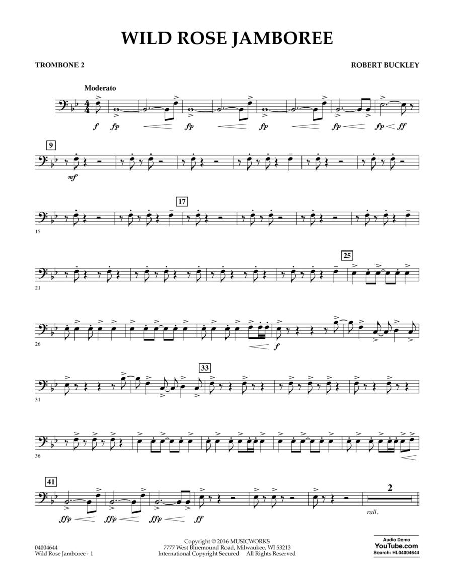 Wild Rose Jamboree - Trombone 2