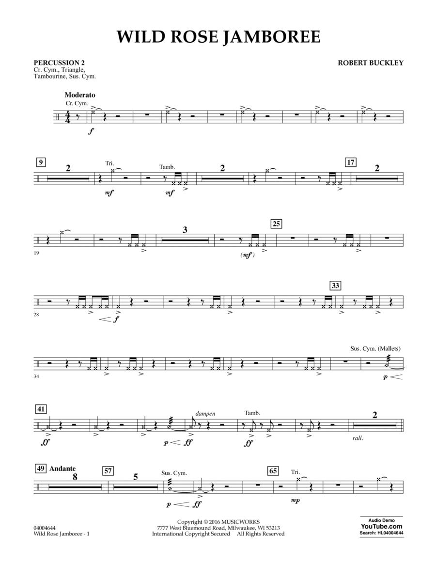 Wild Rose Jamboree - Percussion 2