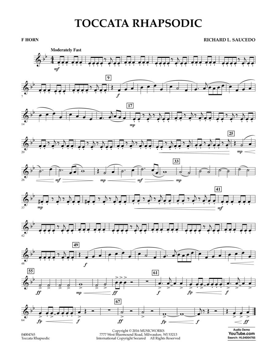 Toccata Rhapsodic - F Horn
