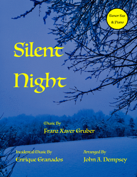 Silent Night (Tenor Sax and Piano Duet)