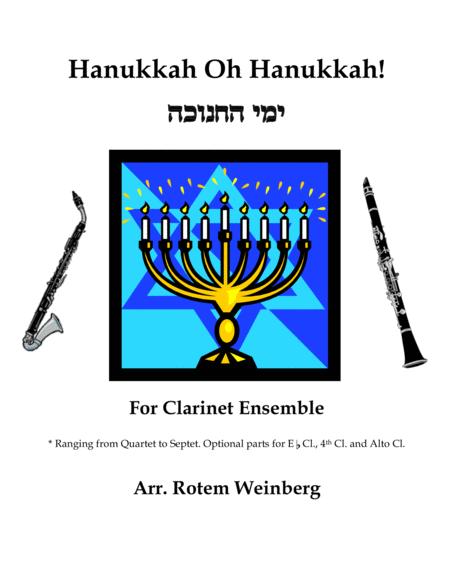 Hanukkah Oh Hanukkah - Clarinets