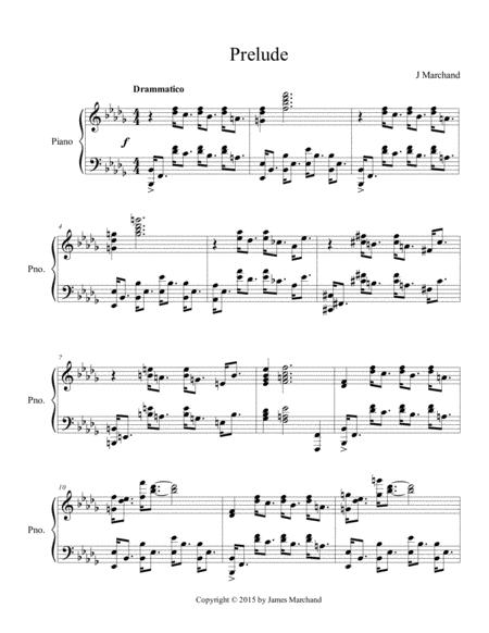Prelude in B-flat Minor