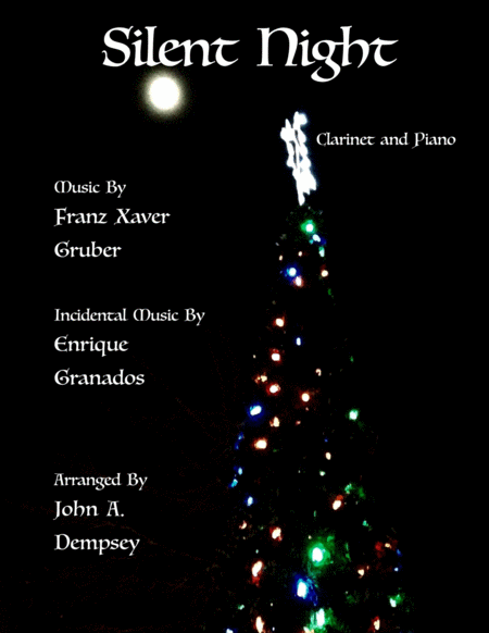 Silent Night (Clarinet and Piano Duet)