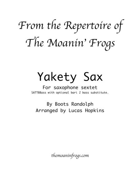 Yakety Sax - Saxophone Sextet