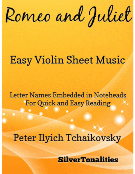 Romeo and Juliet Easy Violin Sheet Music