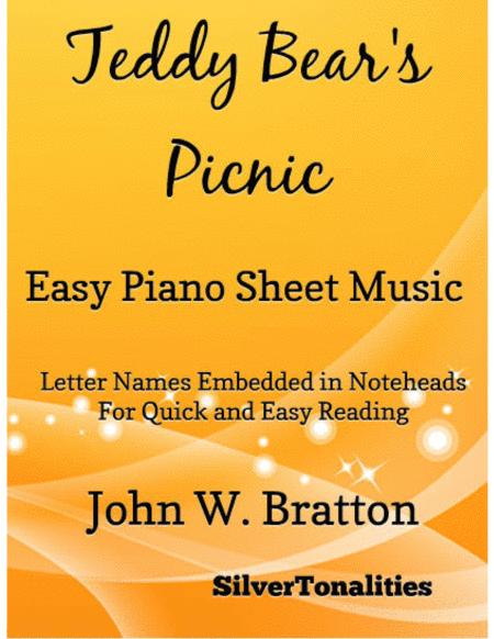 Teddy Bear's Picnic Easy Piano Sheet Music
