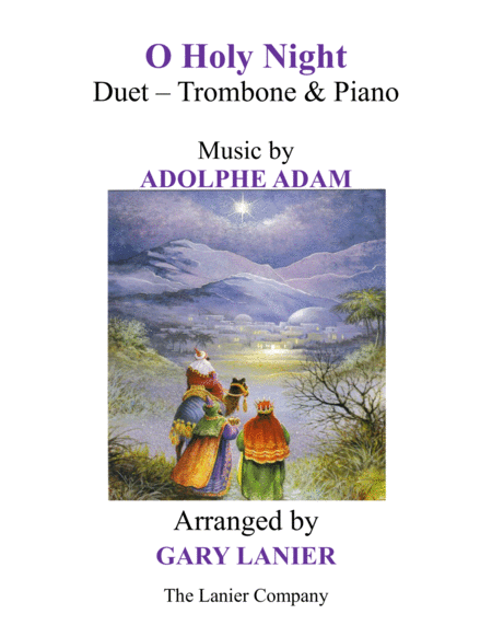 O HOLY NIGHT (Duet – Trombone & Piano with Parts)