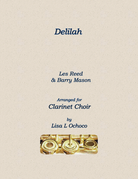 Delilah for Clarinet Choir