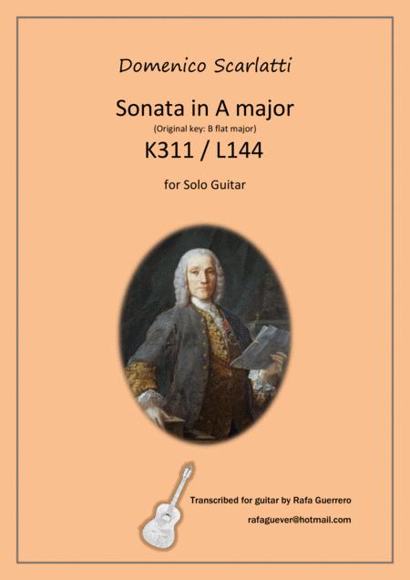 Sonata K311 / L144