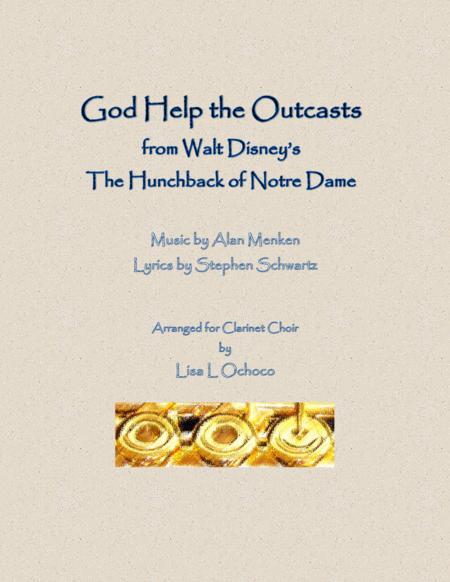 God Help The Outcasts for Clarinet Choir
