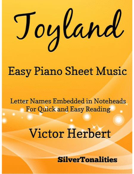 Toyland Easy Piano Sheet Music