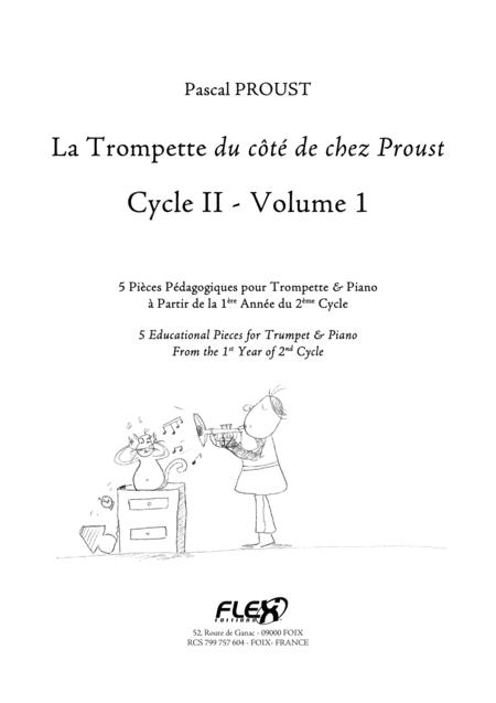 The Trumpet du cote de chez Proust - Level 4, Volume 1