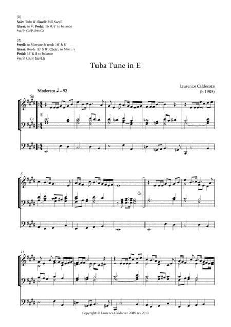 Tuba Tune in E